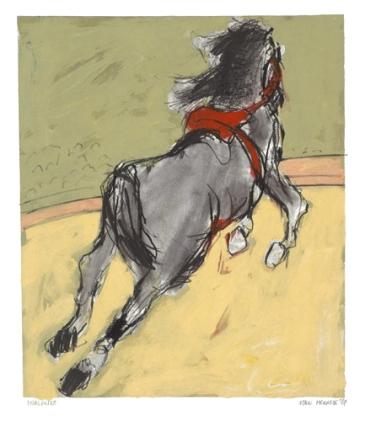 Ellen Meuwese, Circuspaard, Gemengde techniek, 1987