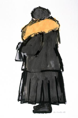 Ellen Meuwese, Wilhelmina, Gemengde techniek, 2000